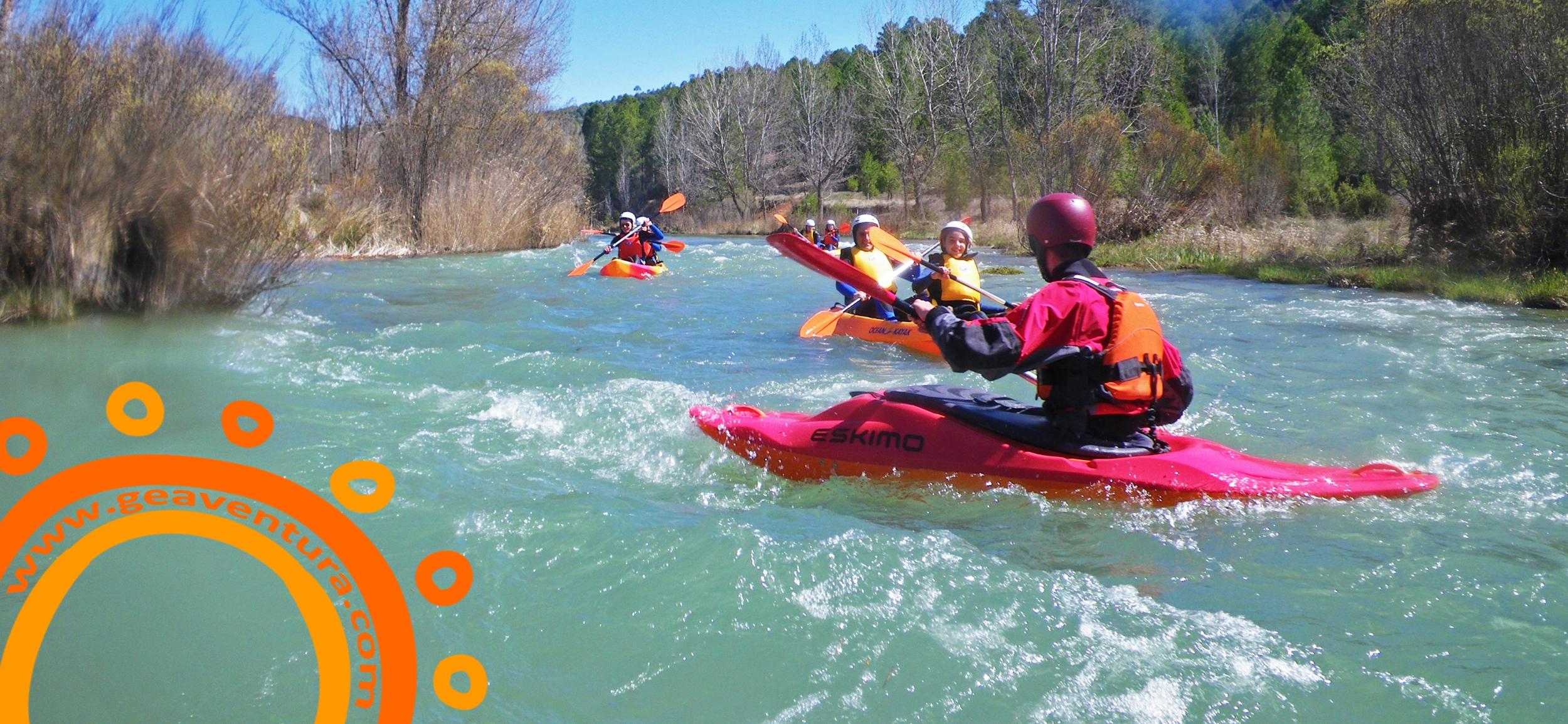 Imagen Piragüismo aguas bravas en Cuenca