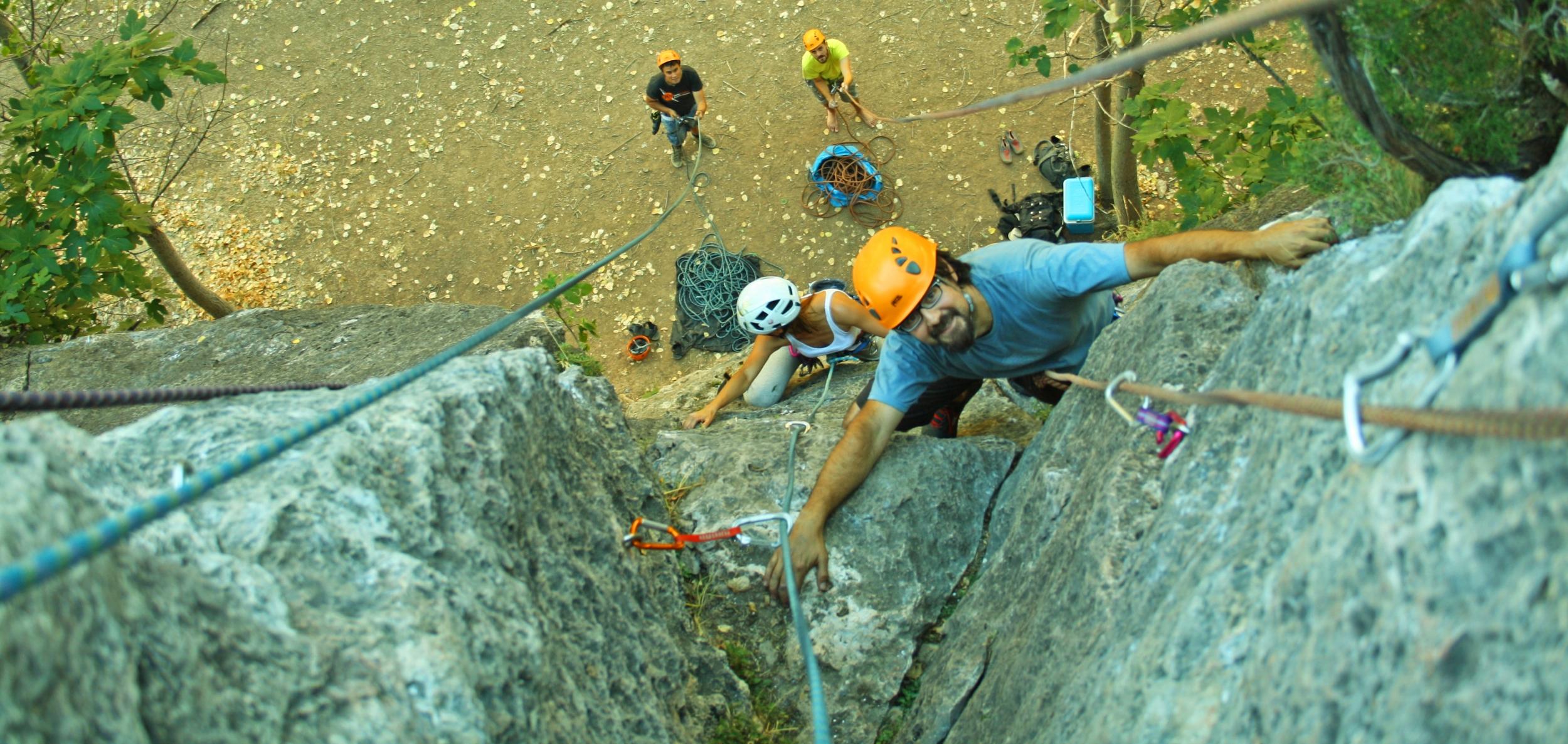 Imagen Escalada en roca en Cuenca
