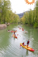 Piragüismo aguas tranquilas