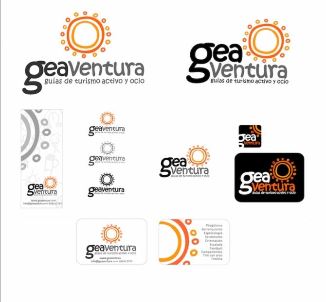 Versiones Logo GEAventura