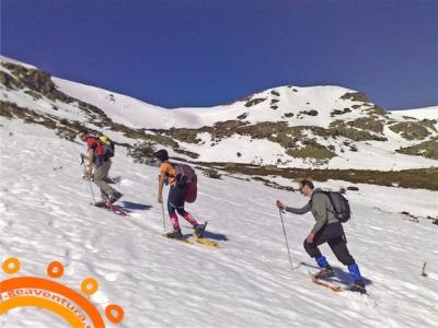 Raquetas de nieve en Cuenca