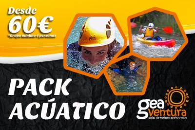 Pack Acúatico GEAventura