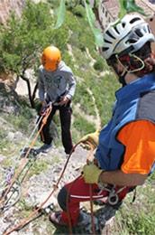 Actividades de aventura. Rappel y tirolina Cuenca