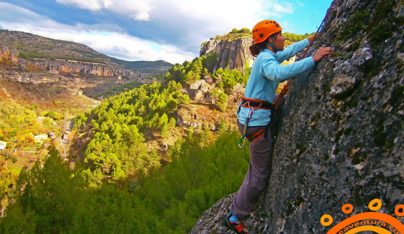 Imagen Escalada en Los Paúles en Cuenca