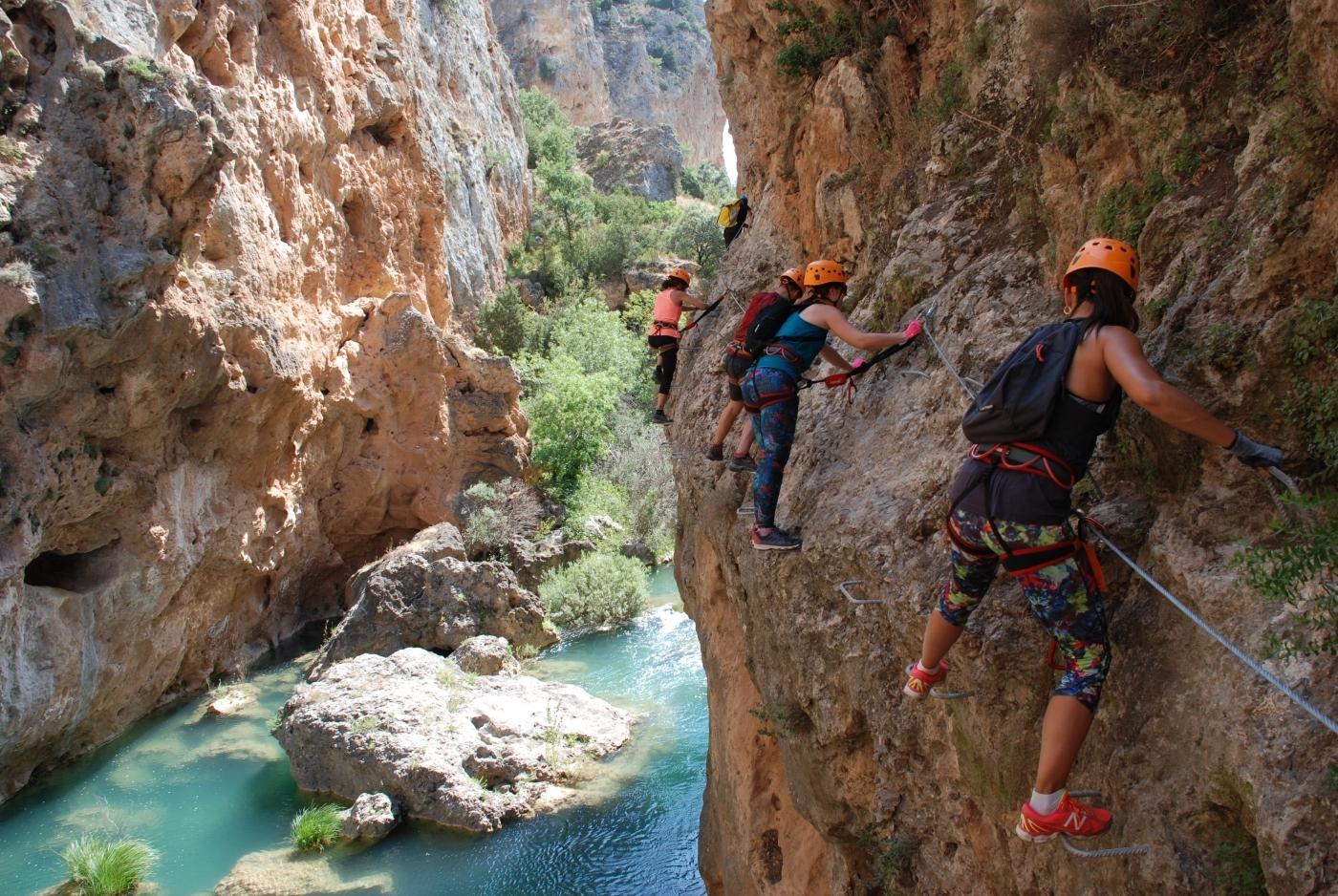 Imagen Vía Ferrata Ventano del Diablo  en Cuenca