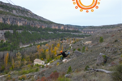 Tirolina del Castillo